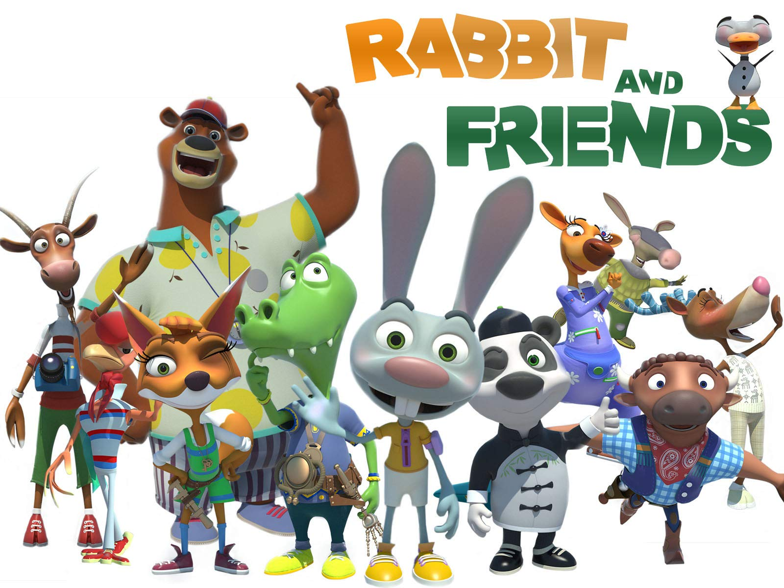 Rabbit and Friends on Amazon Prime Video UK