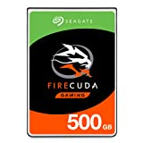 Seagate FireCuda 500GB Solid State Hybrid Drive Performance SSHD - 2.5 Inch SATA 6Gb/s Flash Accelerated for Gaming PC Laptop - Frustration Free Packaging (ST500LX025) (Tamaño: 500GB)