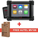 Autel MaxiSys MS908 Auto Diagnostic Scanner with MaxiScope MP408 Automotive Oscilloscope including Advanced ECU Coding for Professional Technicians