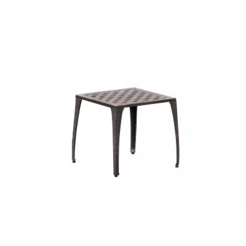 Inko Aluguss Hocker Nexus bronze 609-B günstig online kaufen