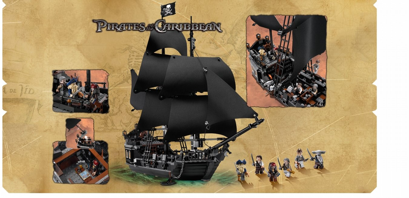 Lego Pirati Dei Caraibi 4184 i Pirati Dei Caraibi