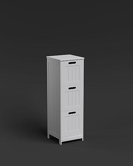 Richmond 3 cajón de almacenaje del cuarto de baño