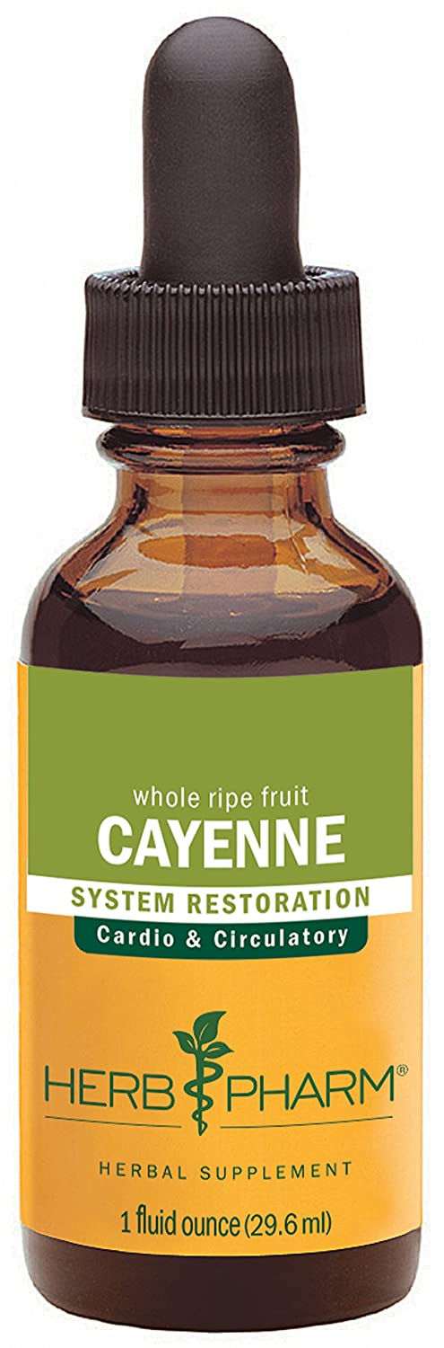Amazon.com: Herb Pharm Certified Organic Cayenne Extract for ...