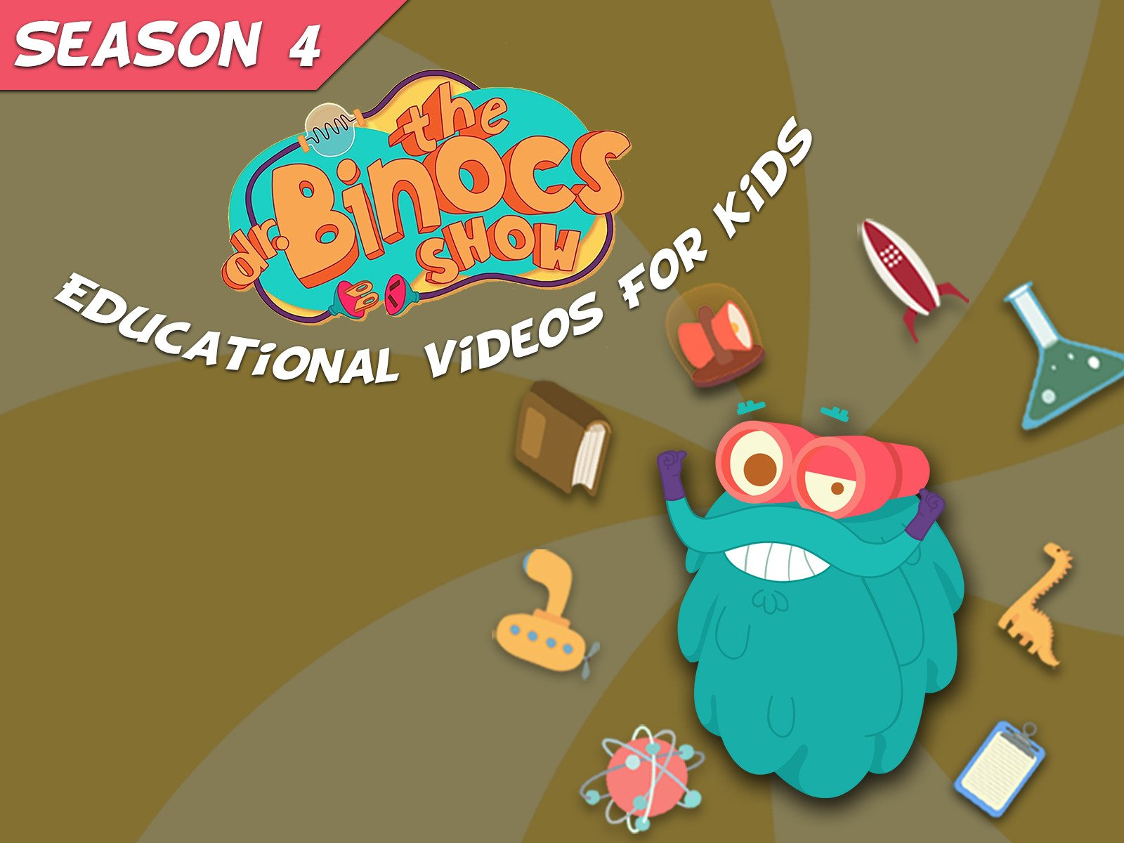 Dr. Binocs Show Educational Videos For Kids