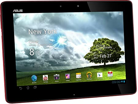 "ASUS Transformer Pad TF300TG-1G096A Tablette Tactile 10.1 "" NVIDIA Android Rouge"