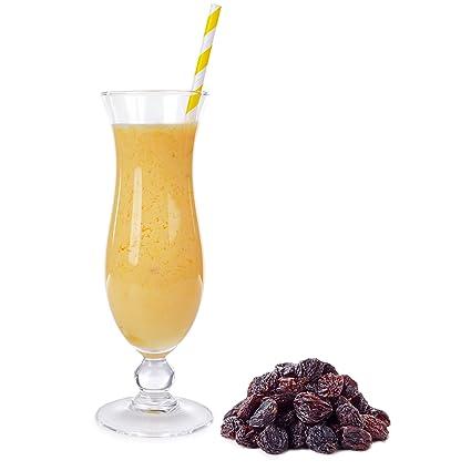 Malaga Geschmack Eiweißpulver Milch Proteinpulver Whey Protein Eiweiß L-Carnitin angereichert Eiweißkonzentrat fur Proteinshakes Eiweißshakes Aspartamfrei (10 kg)