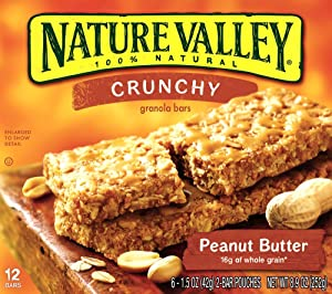 Nature Valley Peanut Butter Protein Bar, Peanut Butter Dark Chocolate, 7.1-Ounce (Pack of 4)
