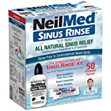 Neilmed Sinus Rinse Kit 50 count  (Pack of 2)