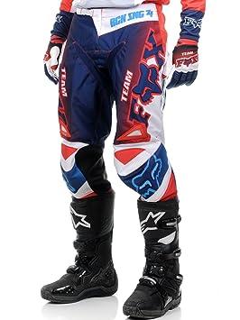 Pantalon Motocross Fox 2015 180 Imperial Bleu Blanc