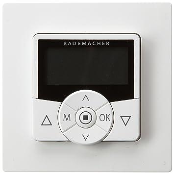rademacher 36500312 programmateur pour volets volets roulants troll blanc bricolage z490. Black Bedroom Furniture Sets. Home Design Ideas