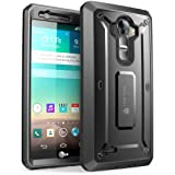 LG G4 Case, SUPCASE Full-body Rugged Holster Case with Built-in Screen Protector for LG G4 2015 Release, Unicorn Beetle PRO Series - Retail Package (Black/Black) (Color: Black/Black, Tamaño: LG G4 2015 Release)