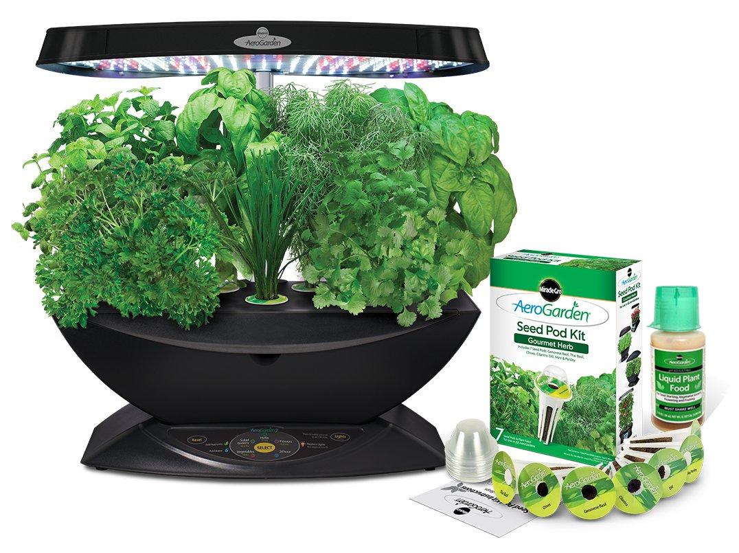 Aerogarden Led Indoor Garden Grow Plants Gourmet Herb Seed