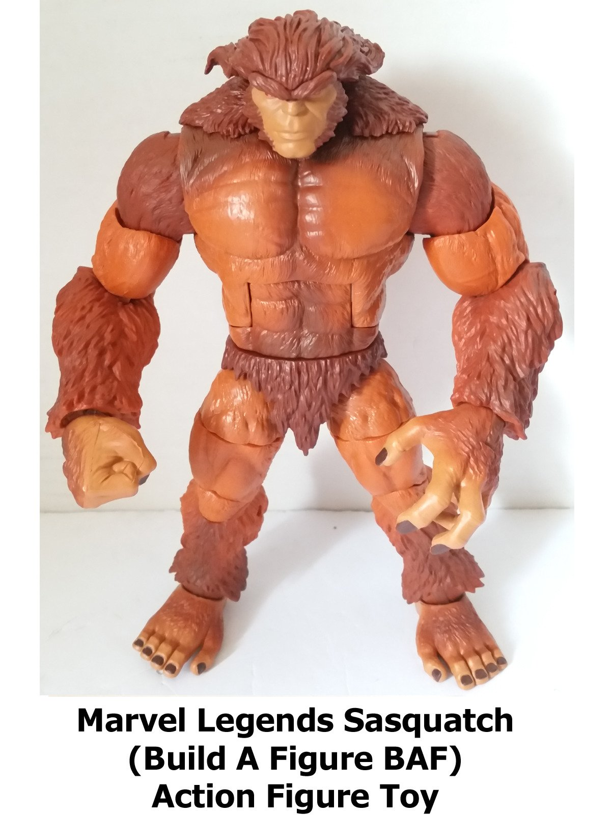 Review: Marvel Legends Sasquatch (Build A Figure BAF) Action Figure Toy