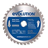Evolution Power Tools 180BLADEST Steel Cutting Saw Blade, 7-Inch x 36-Tooth (Tamaño: 7 Inch)