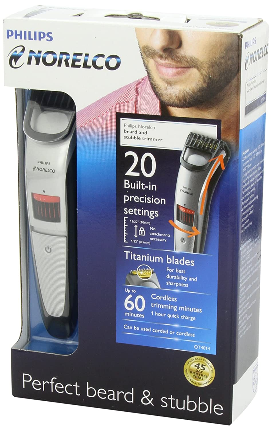 philips norelco qt4014 42 beard trimmer 3500 lazada malaysia. Black Bedroom Furniture Sets. Home Design Ideas