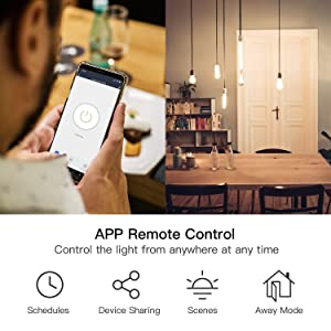 Treatlife Smart Light Switch, Neutral Wire Needed, 2.4Ghz Wi-Fi Light Switch, Works with Alexa and Google Assistant, Schedule, Remote Control, Single Pole, ETL Listed (2 PACK)
