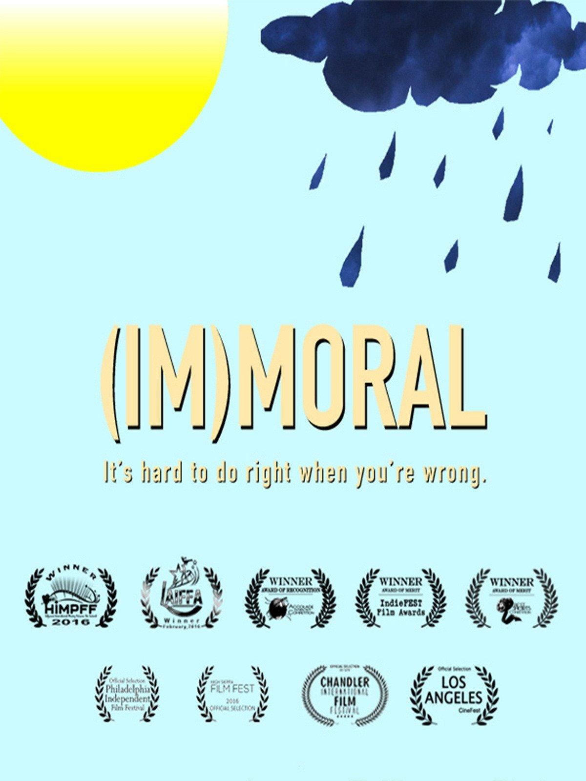 (Im)moral on Amazon Prime Instant Video UK