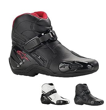 Alpinestars s-mX 2 bottes (court)-couleur :  blanc-noir-taille 44