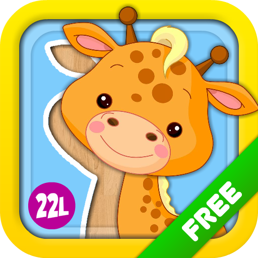 22learn, LLC Preschool Puzzles Games with Animated Animals, Vehicles, Ice Creams, Xylophone