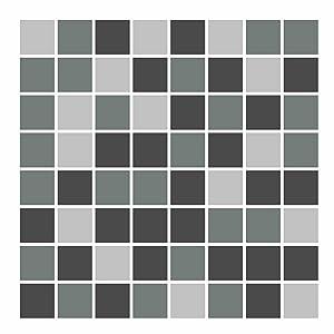 FoLIESEN  Fliesenaufkleber Mosaik  grau  15cm x 15cm  172 Stück  BaumarktKritiken und weitere Informationen