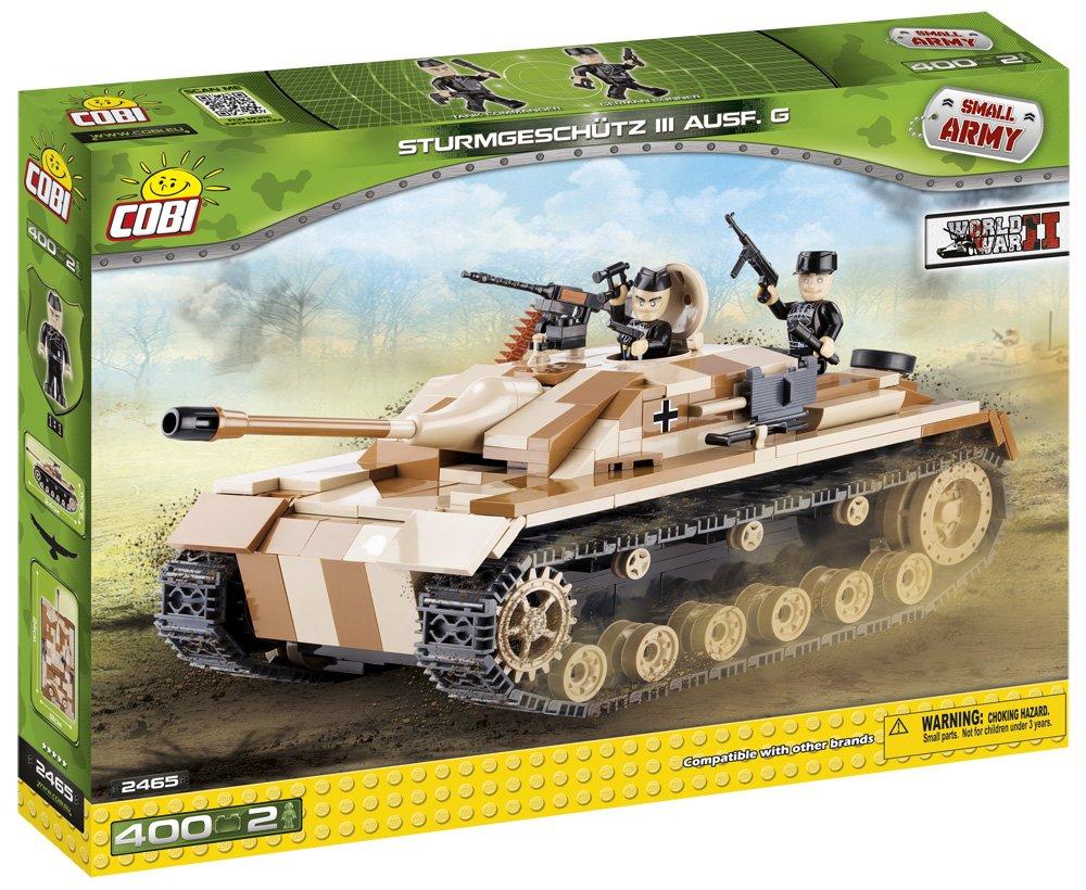 COBI 2465 – Small Army WWII Sturmgeschuetz III Ausf. G – 400 Bausteine als Weihnachtsgeschenk