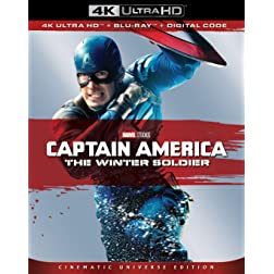 Captain America: The Winter Soldier [4K Ultra HD + Blu-ray]