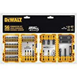 DEWALT FlexTorq 56-Piece Phillips/Square/Torx Impact Driver Bit Set