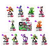 Splatoon 2 Amiibo Cards For Switch and Wii U Full Set 11 Cards(Inkling Boy/Girl/Squid/Aori/Hataru/Callie) (Color: Splatoon 2 11 Pack)