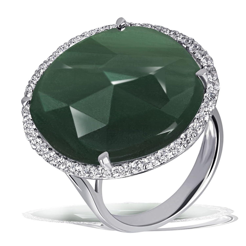 Goldmaid Damen-Ring 925 Sterling Silber Aventurin grün  Fa R6663S günstig