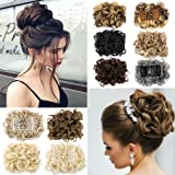 Hair Bun Extensions Donut Hair Chignons Wig Scrunchy Scrunchie Updo Hairpiece