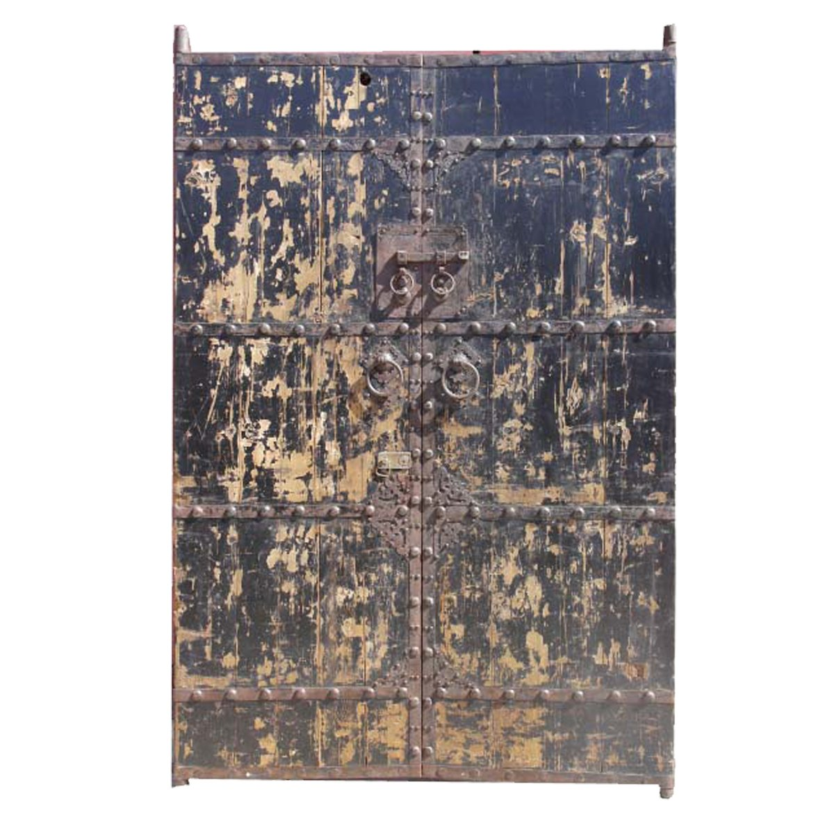 Antique Painted Garden Gate 0