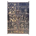 Antique Painted Garden Gate