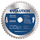 Evolution Power Tools 230BLADEST Steel Cutting Saw Blade, 9-Inch x 48-Tooth (Color: Blue, Tamaño: 9 Inch)