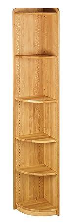 Lara mensola per gli angoli 200x35 cm, in legno di ontano biologico