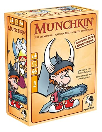 Pegasus Spiele 17222G–Jeu Munchkin 1+ 2