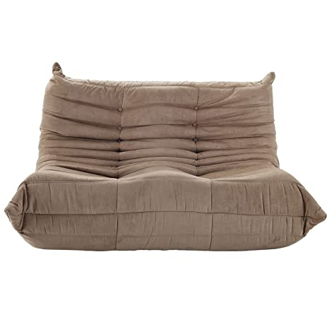 Michel Ducaroy Togo Loveseat in Brown FMP252216