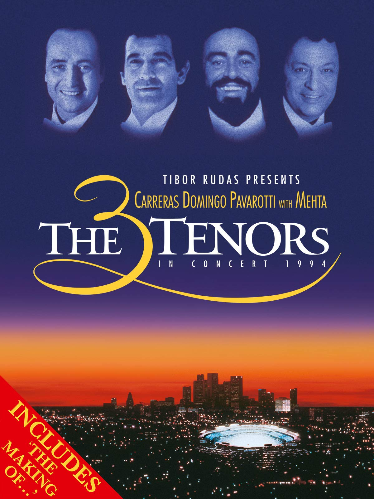 The Three Tenors in Concert 1994 with The Vision (The Making of)