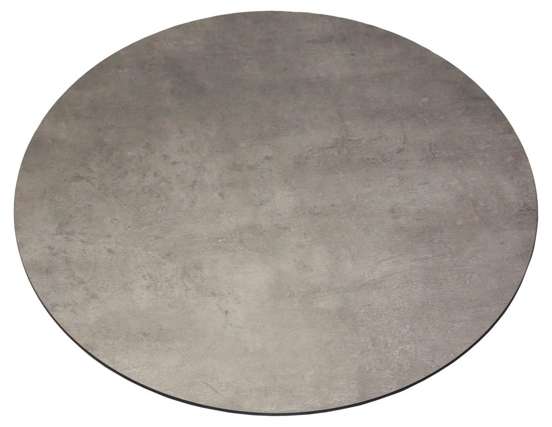 Zebra Tischplatte - Modulares System - Laminat betonfarben, Größe 3, 210 x 100 cm