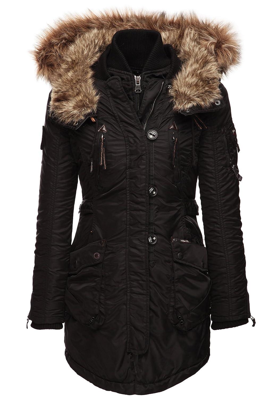 khujo Damen Mantel ROMANE WITH INNER JACKET 1018CO153J_200 jetzt kaufen