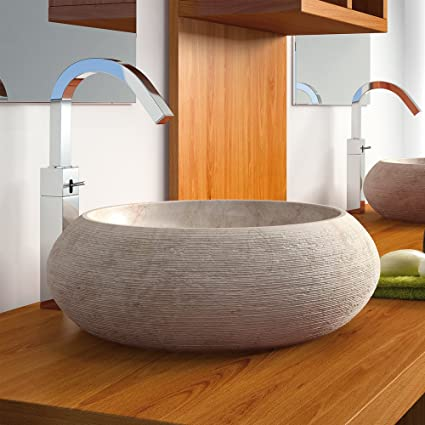 Contemporary Stone Bathroom Sink By MaestroBath