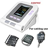 CONTEC Veterinary/Animal use Automatic Blood Pressure Monitor for cat/Dog Three Cuffs Included