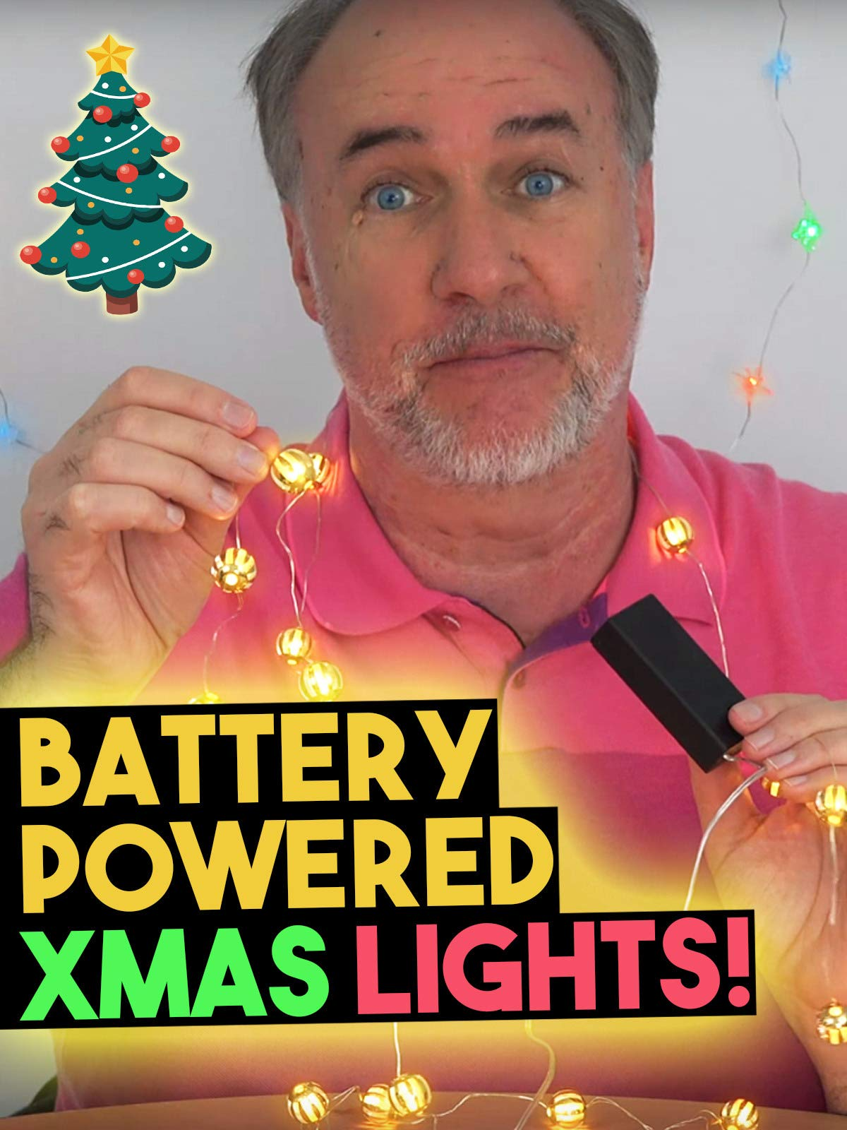 Review: Battery Powered Xmas Lights on Amazon Prime Video UK