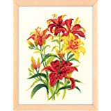 RIOLIS 1782 - Tiger Lilies - Counted Cross Stitch Kit 9¾