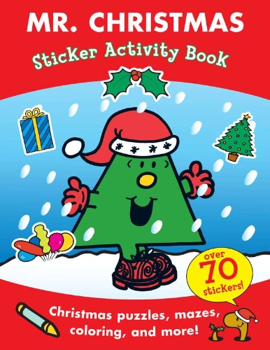 Mr. Christmas Sticker Activity Book (Mr. Men and Little Miss)