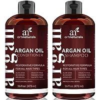 2-Pack Art Naturals Organic Moroccan Argan Oil Shampoo and Conditioner Set