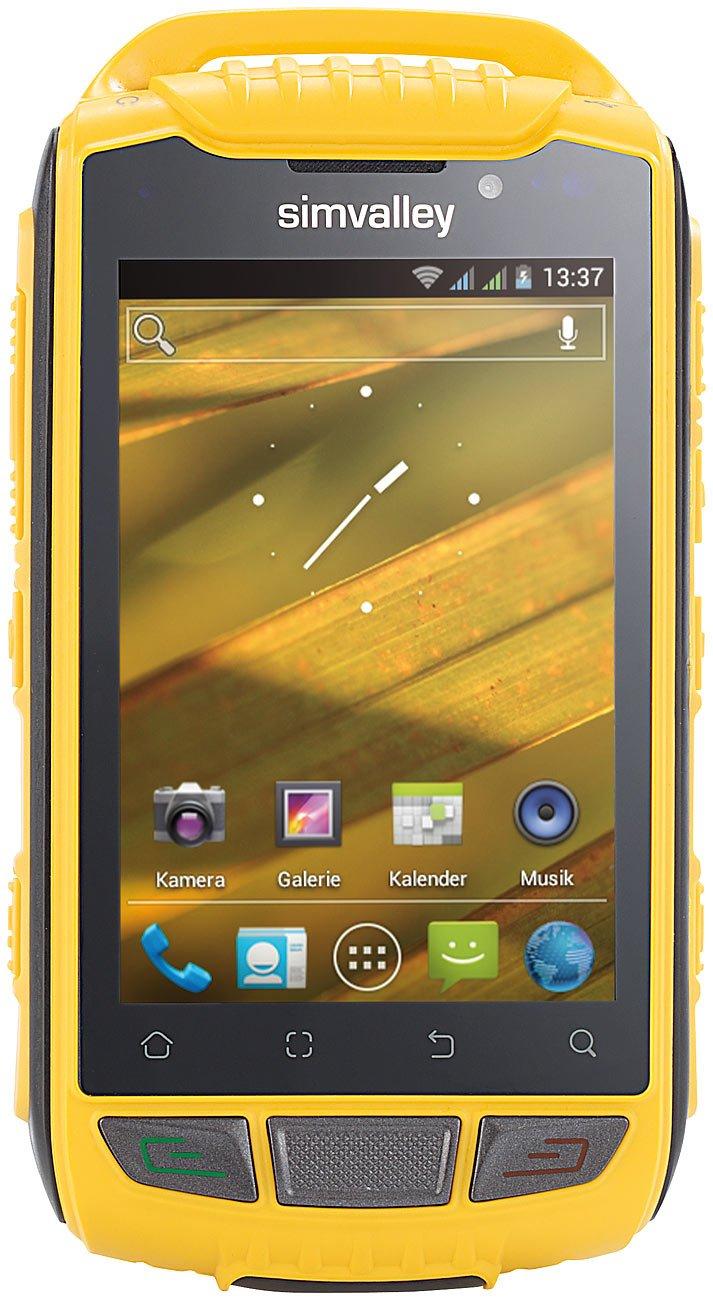 simvalley MOBILE OutdoorSmartphone SPT800 DC, Android  Kundenbewertung und weitere Informationen