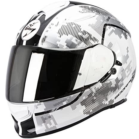 SCORPION 51-197-63-06 Casque de Moto, Multicolore, Taille XL