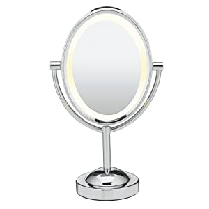 conair oval double sided best rated lighted makeup mirror reviews