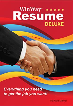 winway resume deluxe 14 software
