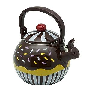 Chocolate Cupcake Tea Kettle